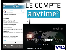 Compte Anytime sans banque